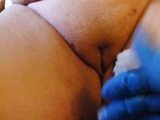 Dicke Penispumpe in Muschi