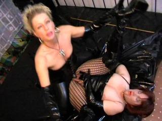 Strapon meine Zofe hart durchgefickt - Domina BDSM Fetisch